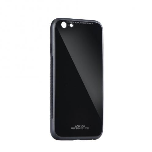 Coque GLASS dos verre trempé pour iPhone 12 PRO MAX Noir