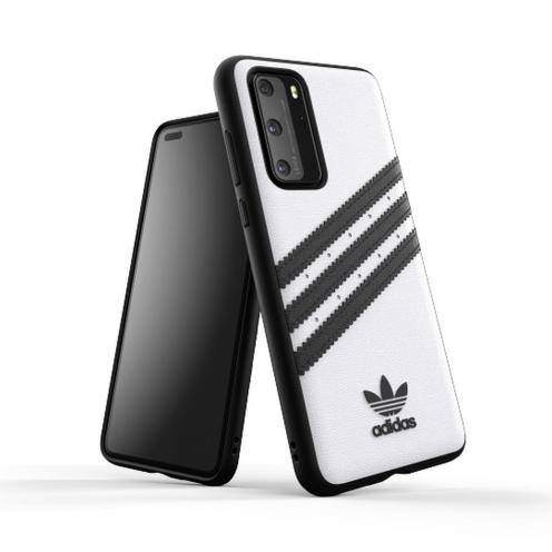 Coque Adidas© Originals Moulée pour Huawei P40 Blanc Noir