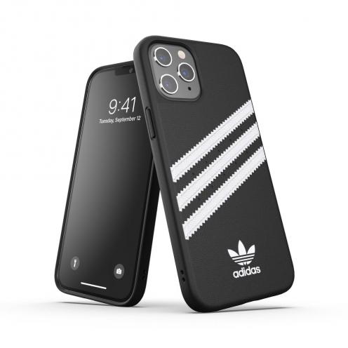 Coque Adidas© Originals Moulée pour iPhone 12 PRO MAX Noir Blanc