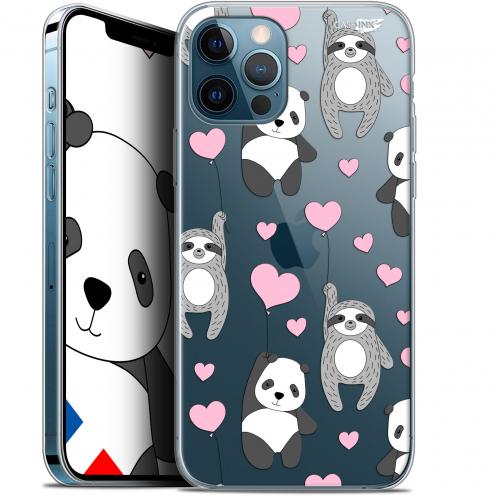 "Coque Gel iPhone 12 / 12 Pro (6.1"") Extra Fine Motif - Panda'mour"