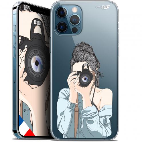 "Coque Gel iPhone 12 / 12 Pro (6.1"") Extra Fine Motif - La Photographe"