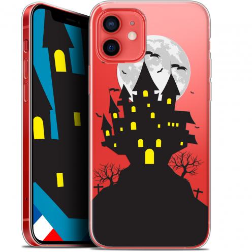 "Coque Gel iPhone 12 Mini (5.4"") Extra Fine Halloween - Castle Scream"