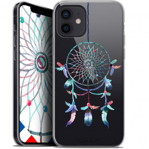 "Coque Gel iPhone 12 Mini (5.4"") Extra Fine Dreamy - Attrape Rêves Rainbow"
