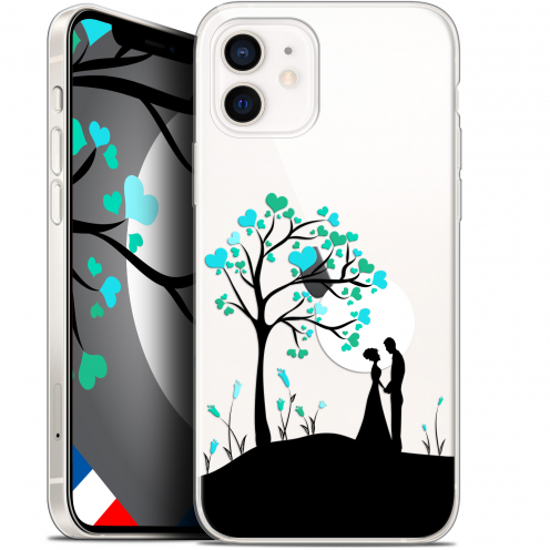 "Coque Gel iPhone 12 Mini (5.4"") Extra Fine Love - Sous l'arbre"