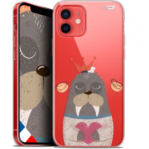 "Coque Gel iPhone 12 Mini (5.4"") Extra Fine Motif - Sketchy Walrus"