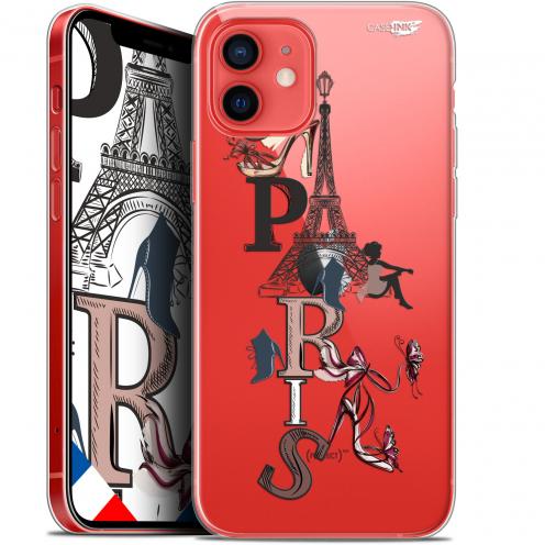 """Coque Gel iPhone 12 Mini (5.4"""") Extra Fine Motif - Stylish Paris"""