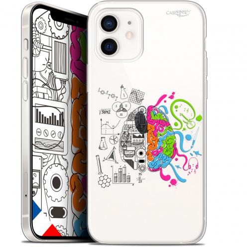 """Coque Gel iPhone 12 Mini (5.4"""") Extra Fine Motif - Le Cerveau"""