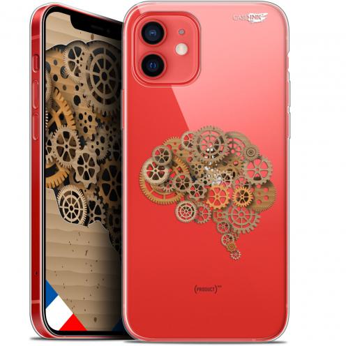 "Coque Gel iPhone 12 Mini (5.4"") Extra Fine Motif - Mécanismes du Cerveau"