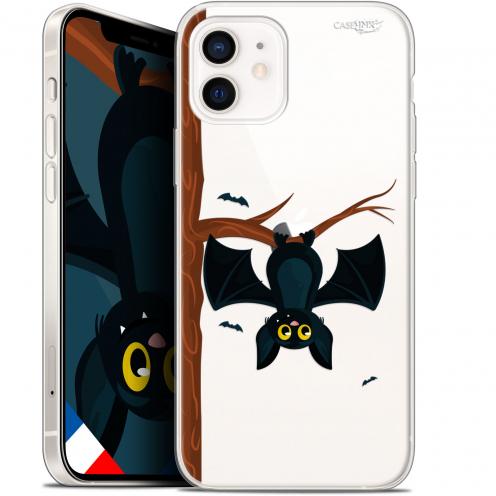 "Coque Gel iPhone 12 Mini (5.4"") Extra Fine Motif - Petite Chauve Souris"