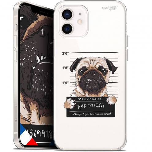 "Coque Gel iPhone 12 Mini (5.4"") Extra Fine Motif - Beware The Puggy Dog"