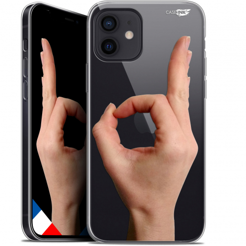 "Coque Gel iPhone 12 Mini (5.4"") Extra Fine Motif - Le Jeu du Rond"