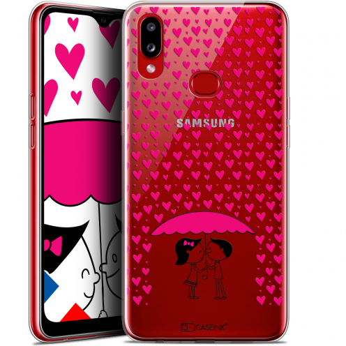 "Coque Gel Samsung A10S (6.1"") Extra Fine Love - Pluie d'Amour"