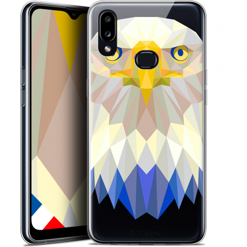 "Coque Gel Samsung A10S (6.1"") Extra Fine Polygon Animals - Aigle"