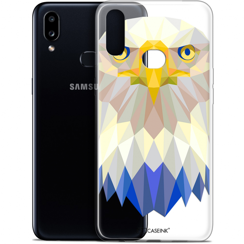 "Coque Gel Samsung A10S (6.1"") Extra Fine Polygon Animals - Aigle"