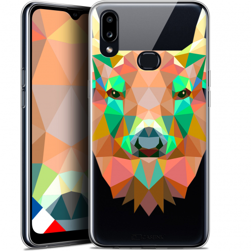 "Coque Gel Samsung A10S (6.1"") Extra Fine Polygon Animals - Cerf"