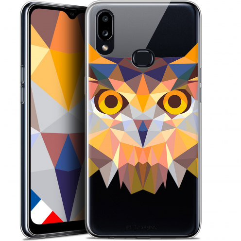 "Coque Gel Samsung A10S (6.1"") Extra Fine Polygon Animals - Hibou"