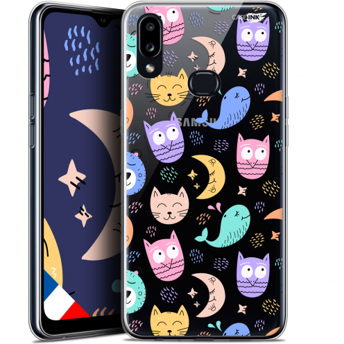 "Coque Gel Samsung A10S (6.1"") Extra Fine Motif - Chat Hibou"
