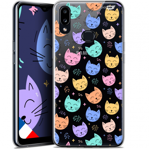 "Coque Gel Samsung A10S (6.1"") Extra Fine Motif - Chat Dormant"