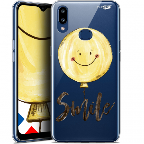 "Coque Gel Samsung A10S (6.1"") Extra Fine Motif - Smile Baloon"