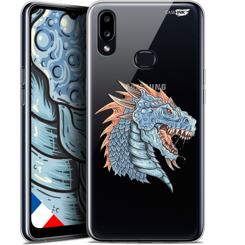 "Coque Gel Samsung A10S (6.1"") Extra Fine Motif - Dragon Draw"