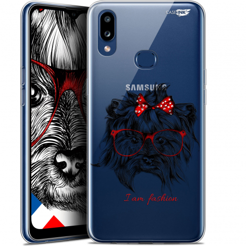 "Coque Gel Samsung A10S (6.1"") Extra Fine Motif - Fashion Dog"