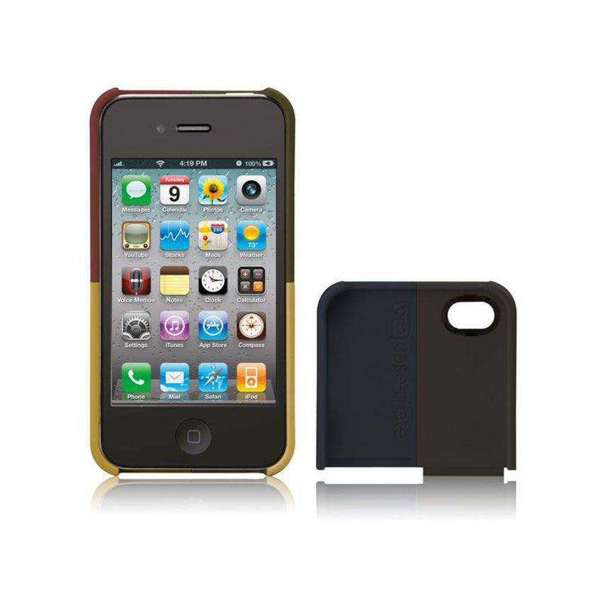 Vue détaillée de Coque Case-Mate® Quartet iPhone 4S/4