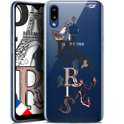 "Coque Gel Samsung A10S (6.1"") Extra Fine Motif - Stylish Paris"