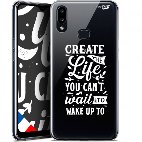 "Coque Gel Samsung A10S (6.1"") Extra Fine Motif - Wake Up Your Life"