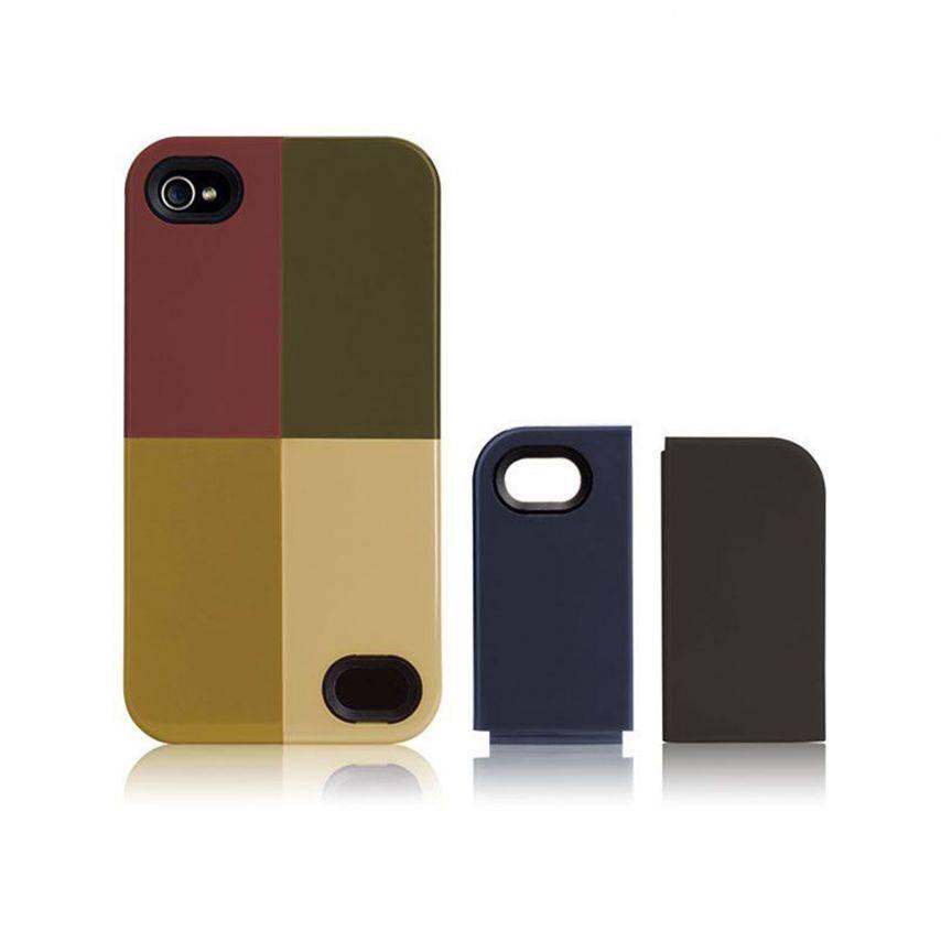 Zoom sur Coque Case-Mate® Quartet iPhone 4S/4