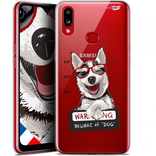 "Coque Gel Samsung A10S (6.1"") Extra Fine Motif - Beware The Husky Dog"