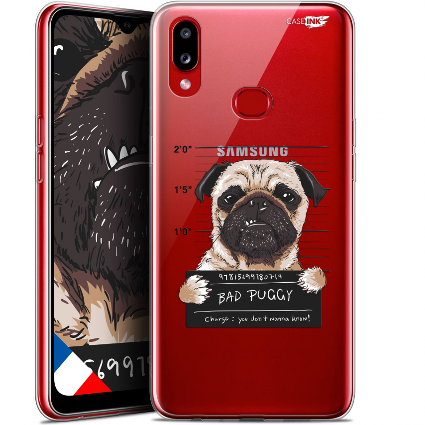 "Coque Gel Samsung A10S (6.1"") Extra Fine Motif - Beware The Puggy Dog"