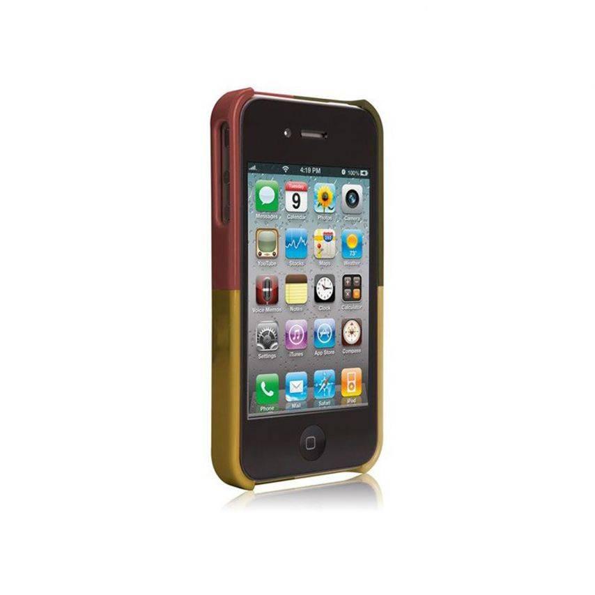 Visuel unique de Coque Case-Mate® Quartet iPhone 4S/4