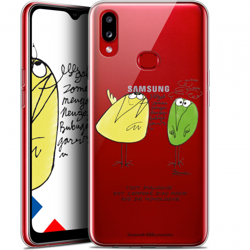 "Coque Gel Samsung A10S (6.1"") Extra Fine Les Shadoks® - Le Dialogue"