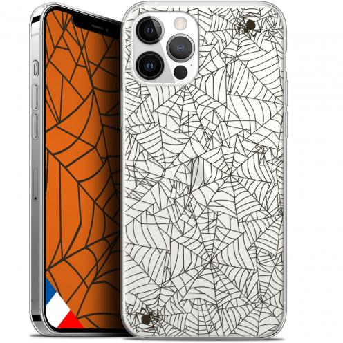 "Coque Gel iPhone 12 Pro MAX (6.7"") Extra Fine Halloween - Spooky Spider"