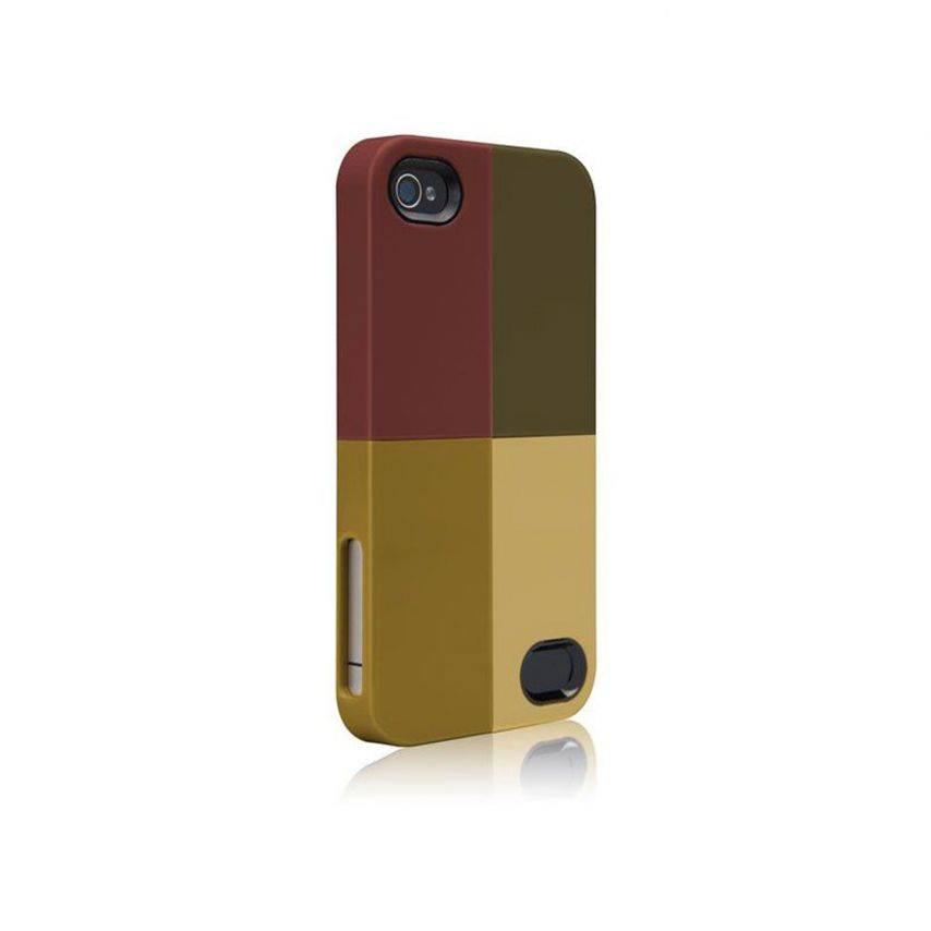 Vue complémentaire de Coque Case-Mate® Quartet iPhone 4S/4