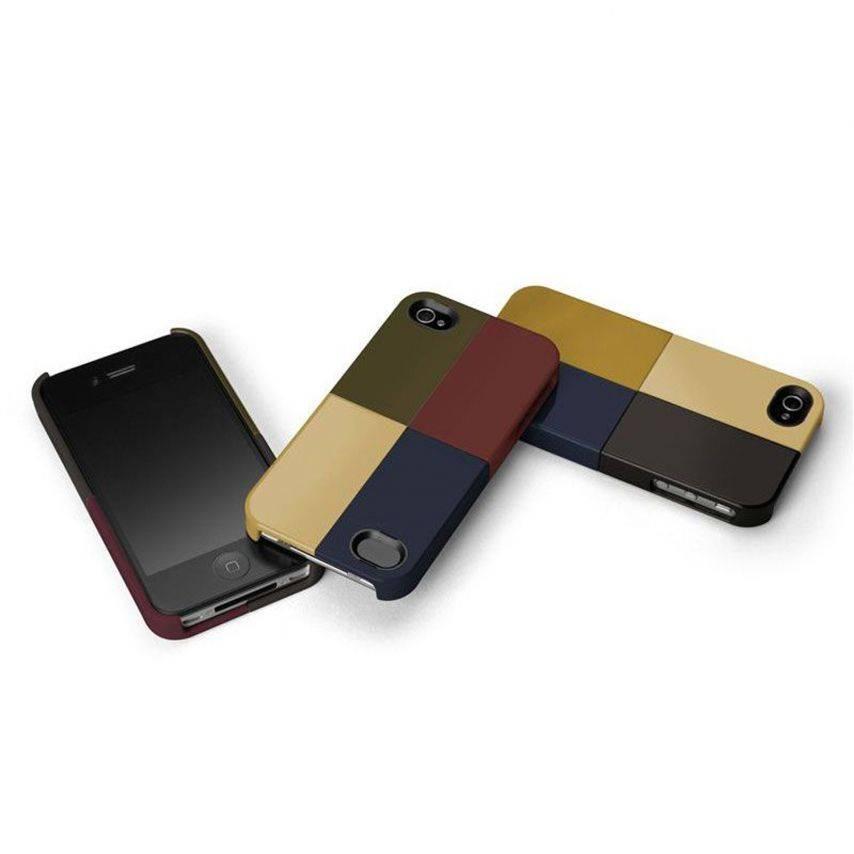 Vue portée de Coque Case-Mate® Quartet iPhone 4S/4