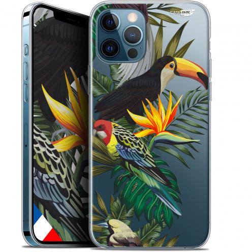 "Coque Gel iPhone 12 Pro MAX (6.7"") Extra Fine Motif - Toucan Tropical"