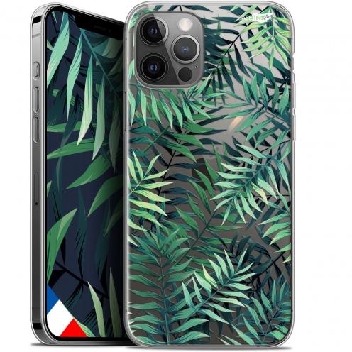 """Coque Gel iPhone 12 Pro MAX (6.7"""") Extra Fine Motif - Feuilles des Tropiques"""