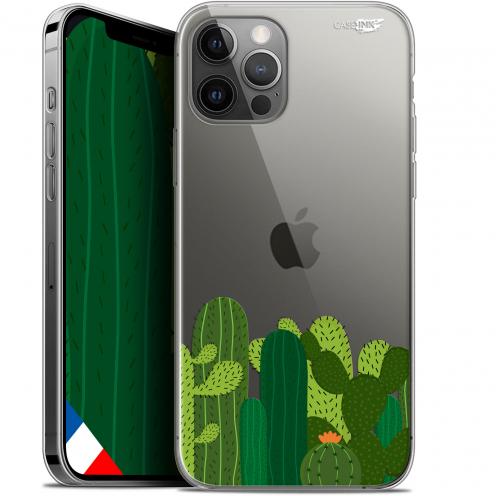 """Coque Gel iPhone 12 Pro MAX (6.7"""") Extra Fine Motif - Cactus"""