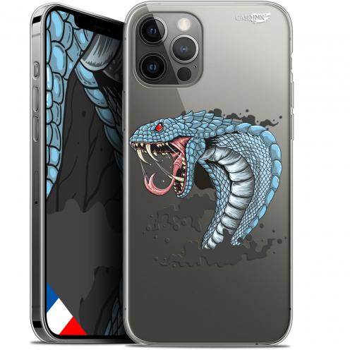 "Coque Gel iPhone 12 Pro MAX (6.7"") Extra Fine Motif - Cobra Draw"