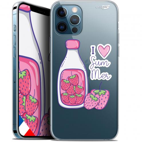 "Coque Gel iPhone 12 Pro MAX (6.7"") Extra Fine Motif - Milky Summer"