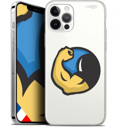 "Coque Gel iPhone 12 Pro MAX (6.7"") Extra Fine Motif - Monsieur Muscle"