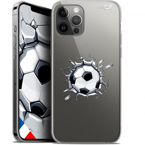"Coque Gel iPhone 12 Pro MAX (6.7"") Extra Fine Motif - Le Balon de Foot"