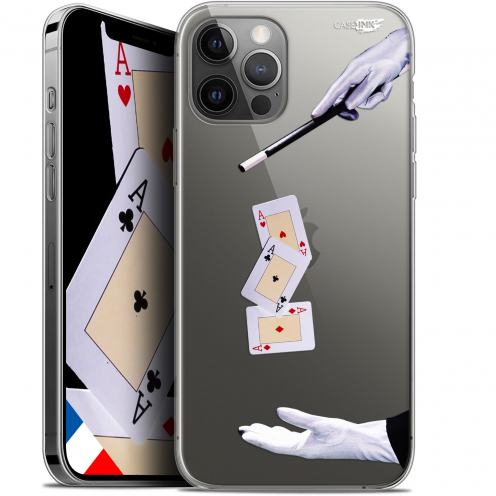 """Coque Gel iPhone 12 Pro MAX (6.7"""") Extra Fine Motif - Cartes Magiques"""