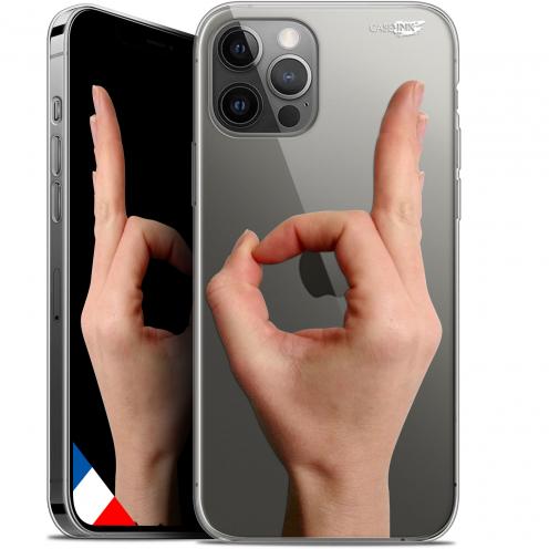 "Coque Gel iPhone 12 Pro MAX (6.7"") Extra Fine Motif - Le Jeu du Rond"