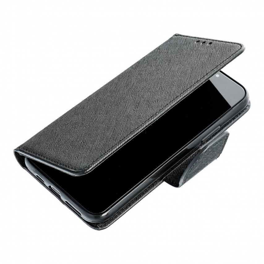 Coque Etui Fancy Book pour Xiaomi Mi 10T Pro Noir