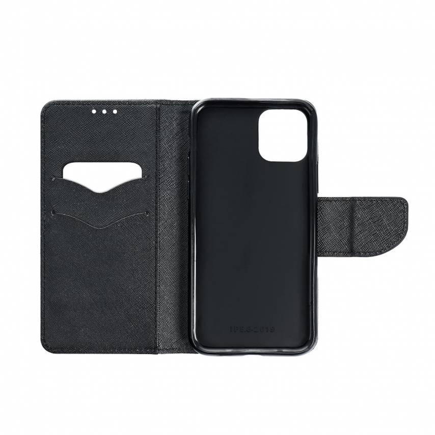 Coque Etui Fancy Book pour Xiaomi Mi 10 Noir