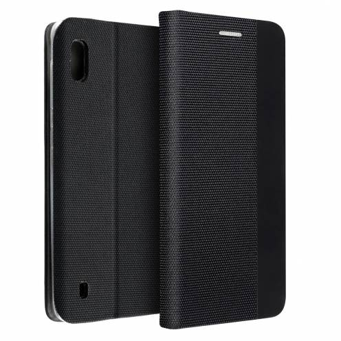 Coque Folio Sensitive Book pour Samsung A10 Noir