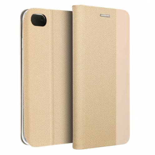 Coque Folio Sensitive Book pour Apple iPhone 7/8 Or