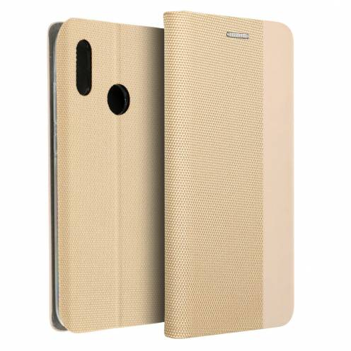 Coque Folio Sensitive Book pour Huawei P40 Lite E Or